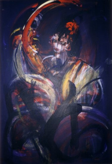 GRAND FLAMENCO 116x89 cm